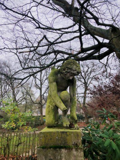 タボール公園の像