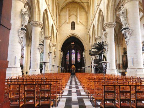 ブリュッセルの教会