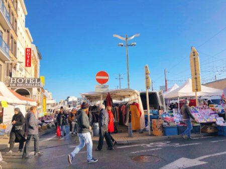 ブリュッセルの市場