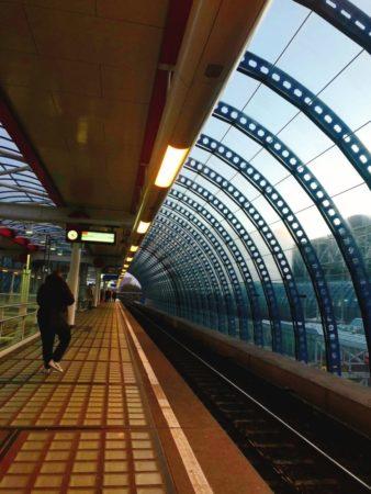アムステルダムの駅