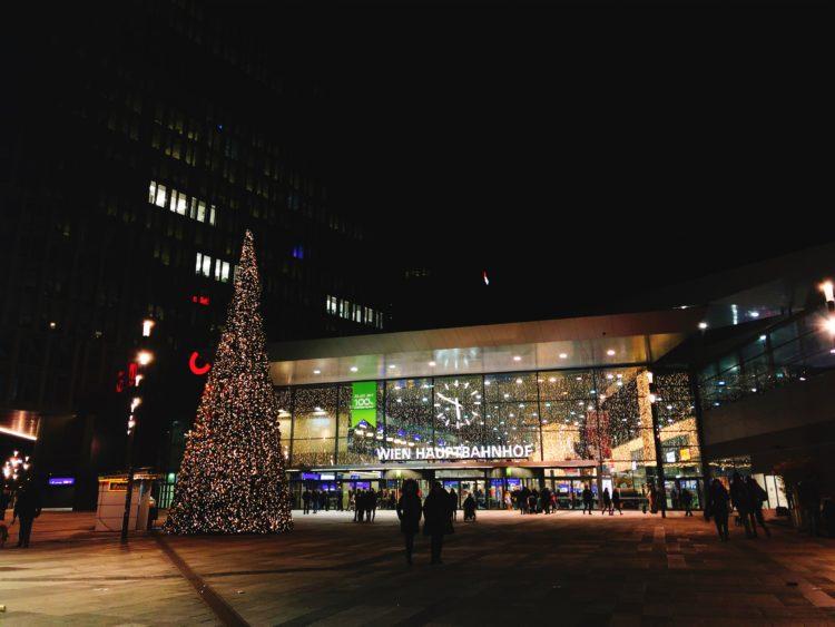 ウイーン中央駅