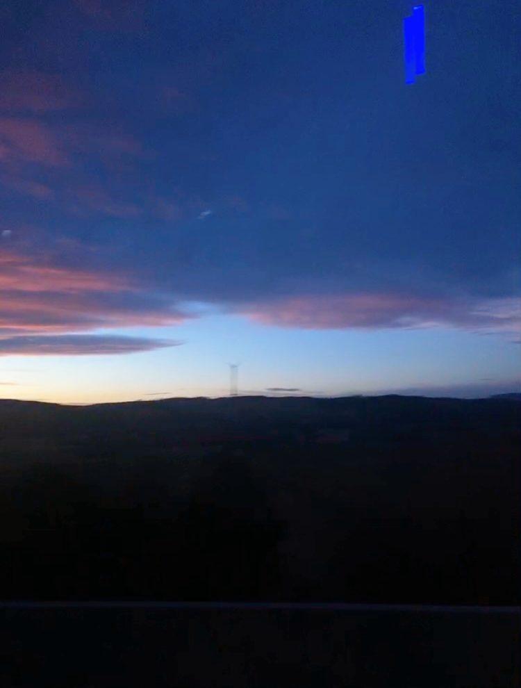 スロベニアの空