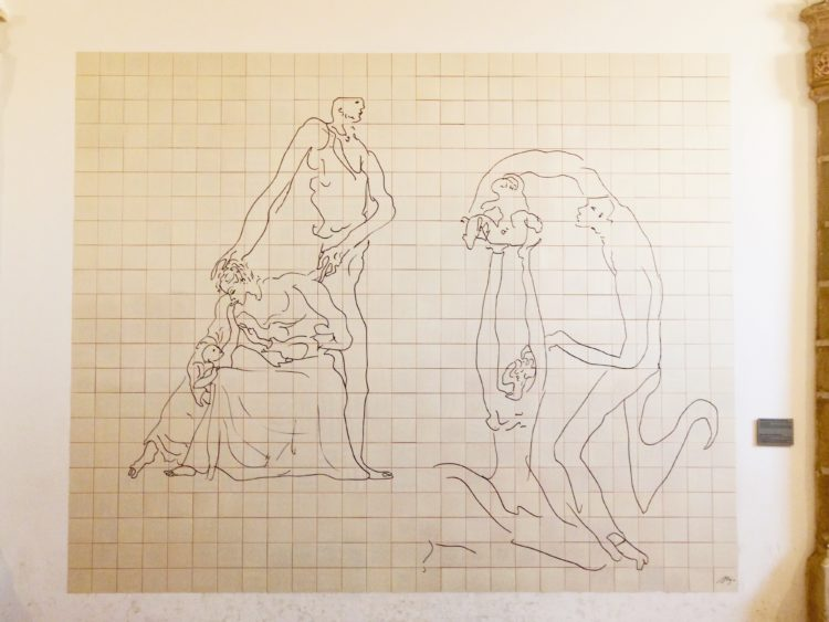 聖家族の絵
