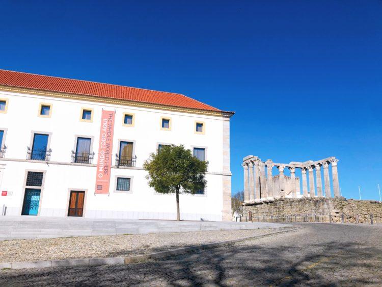 パルテノン神殿と美術館