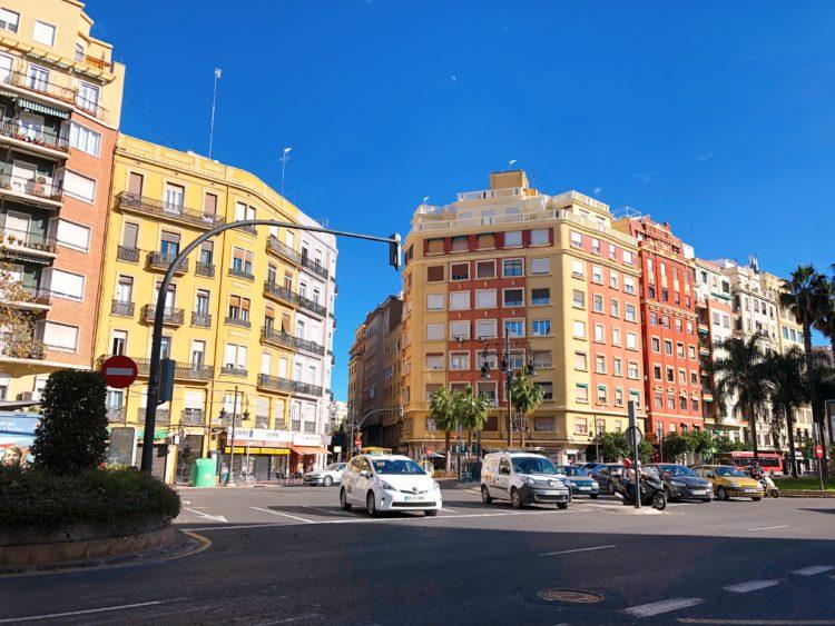 バレンシアの街