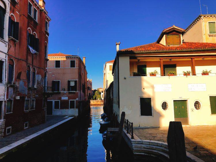 ベネチアの街