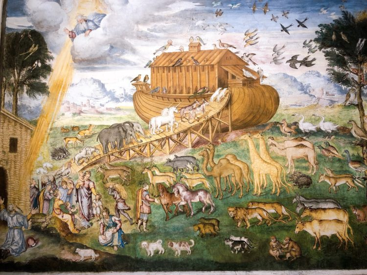 ノアの箱舟 サン・マウリツィオ教会