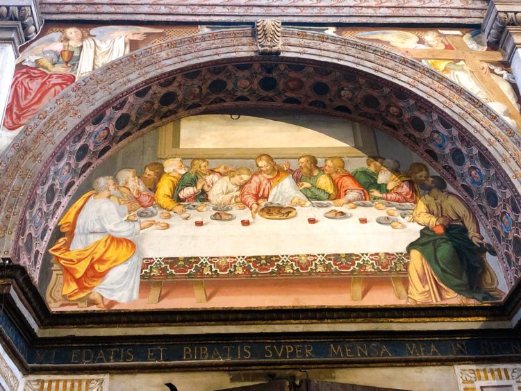 最後の晩餐 サン・マウリツィオ教会