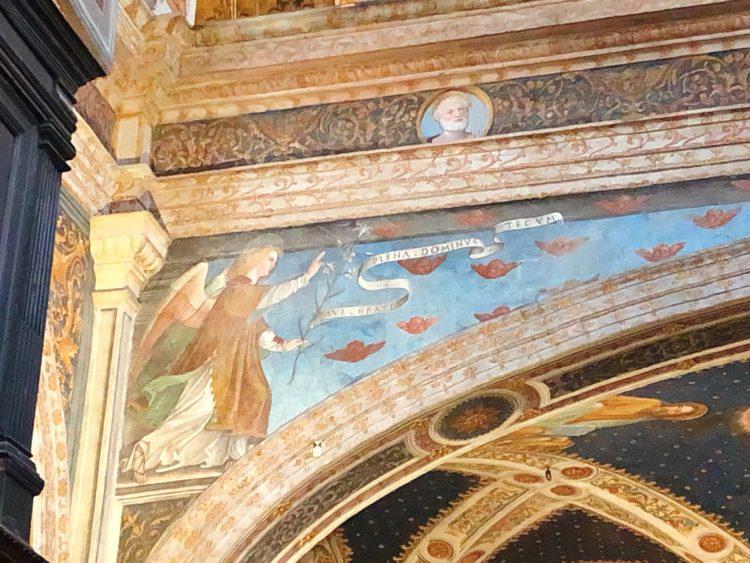 受胎告知 サン・マウリツィオ教会