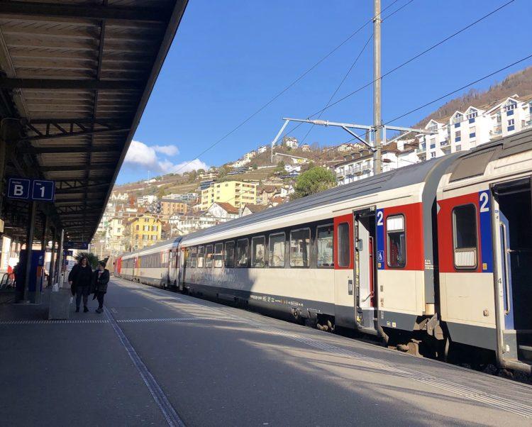 モントルー駅 スイス