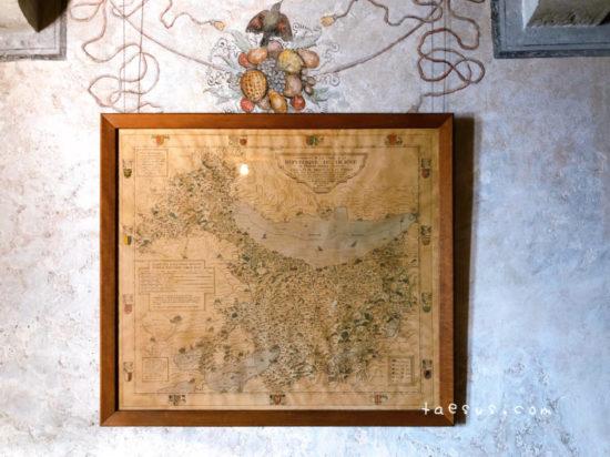 古地図 シヨン城