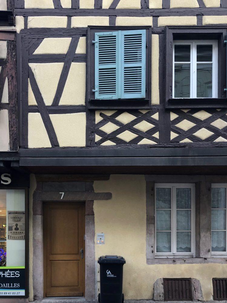 フランス コルマール アパート