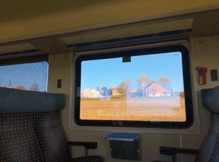 スイス 車窓