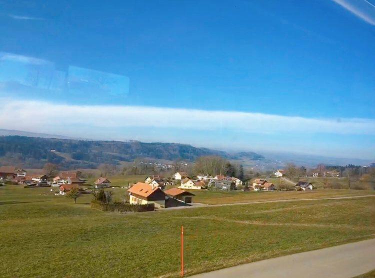スイス 田舎の景色