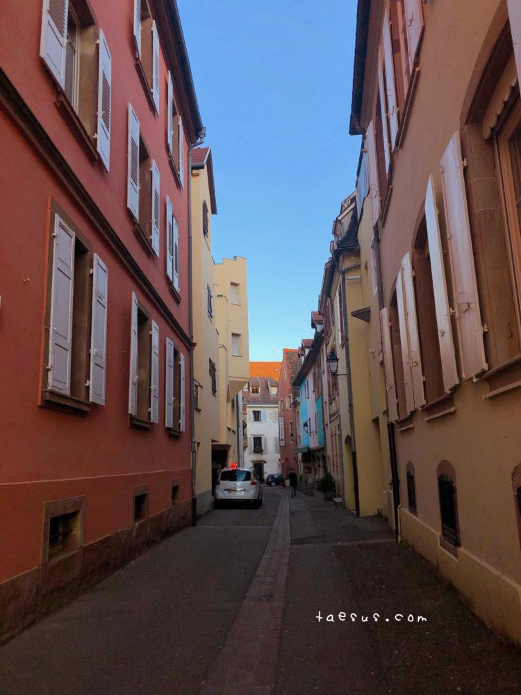 コルマール 街並み フランス