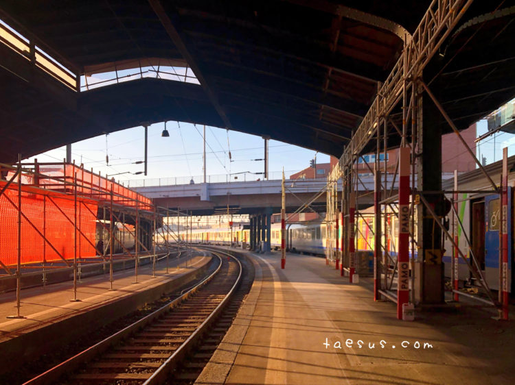 スイス バーゼル 駅