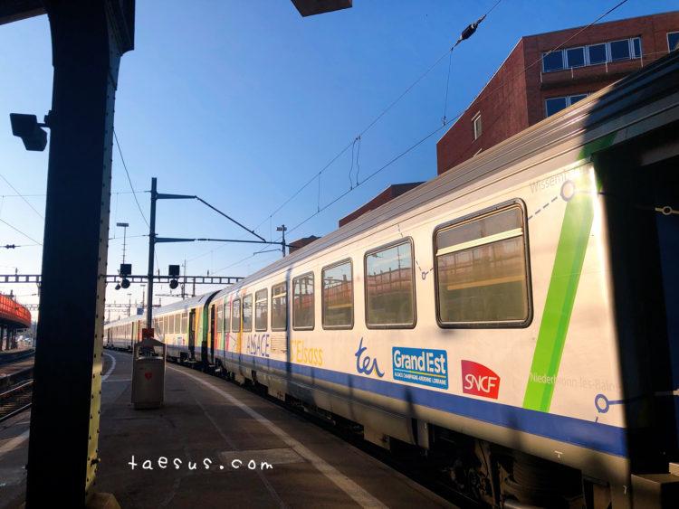 スイス バーゼル駅