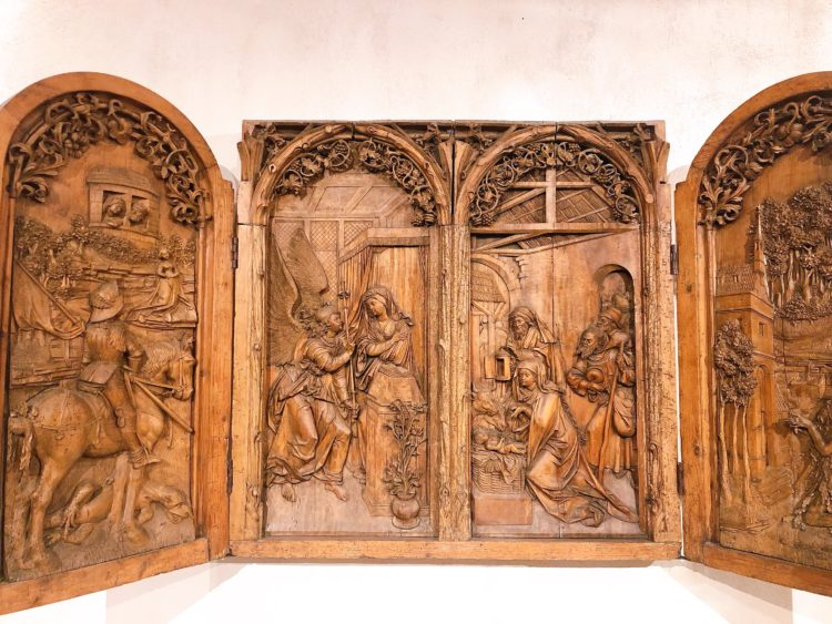 ベルクハイムの祭壇画 コルマール