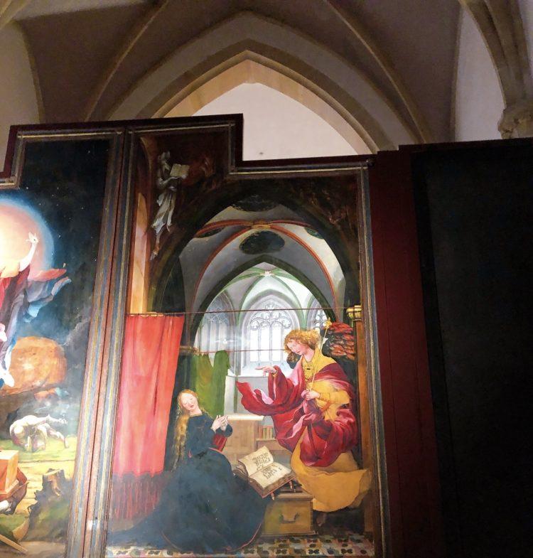イーゼンハイム祭壇画 コルマール