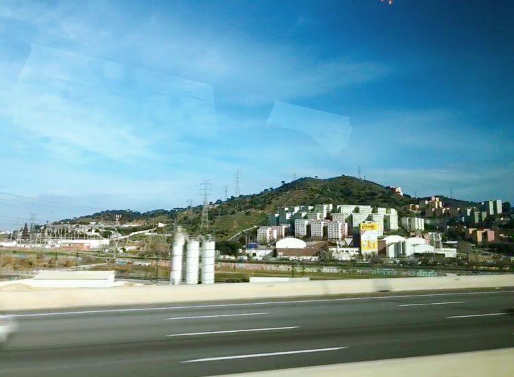 スペインの景色