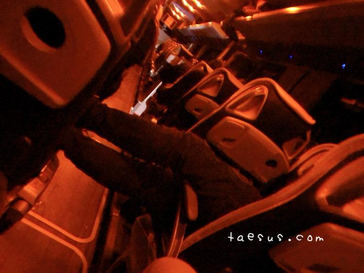 バスの中 フランス