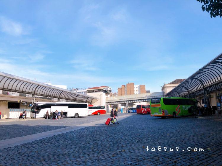 バスターミナル スペイン