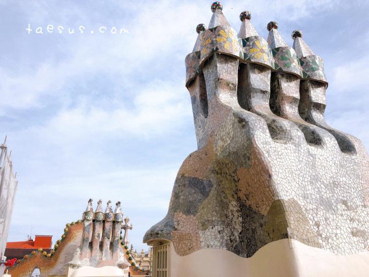 屋上 カサ・バトリョ
