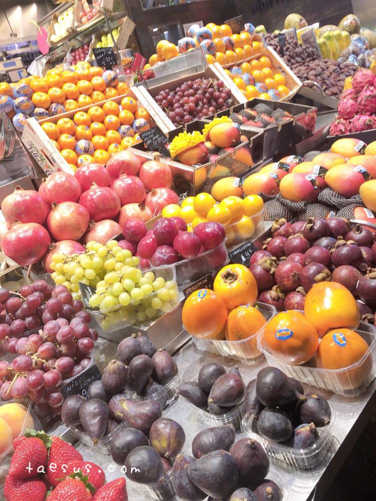 果物 市場 バルセロナ