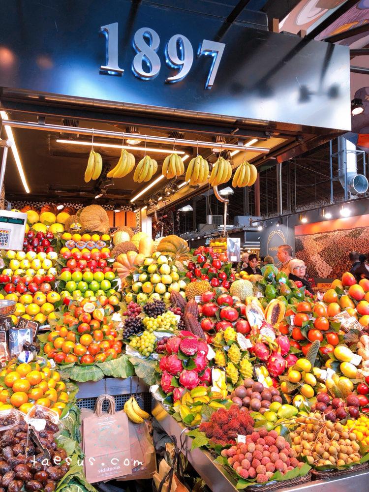 果物 バルセロナ