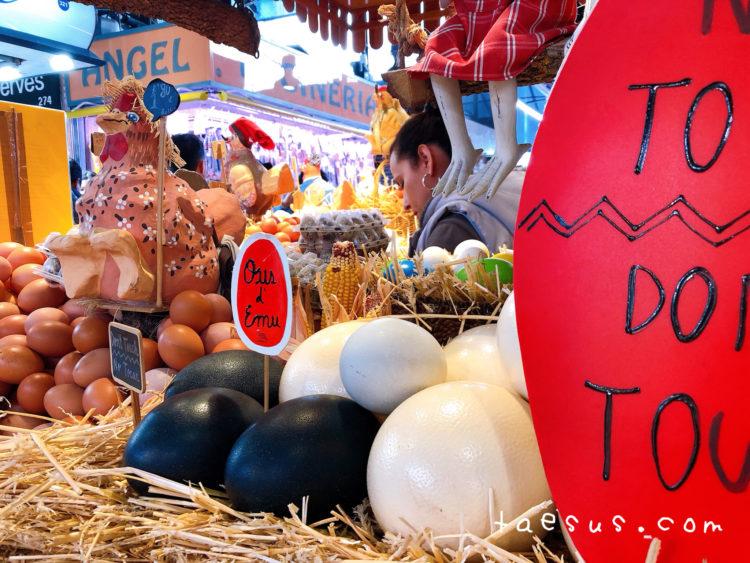 卵 市場 バルセロナ