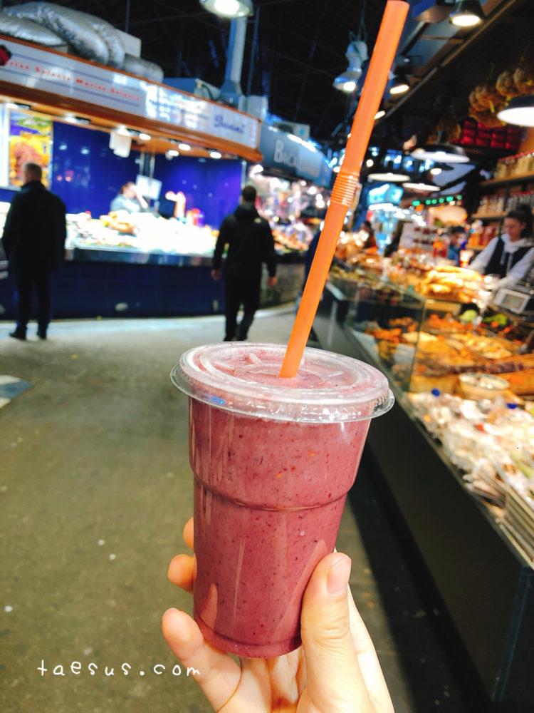 ジュース 市場 バルセロナ