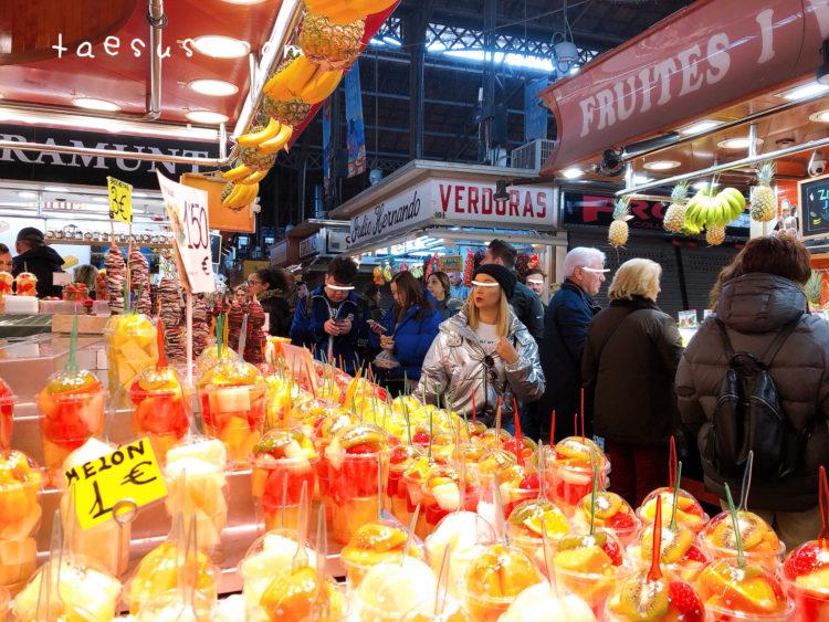 市場 バルセロナ