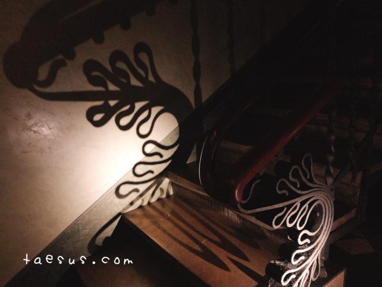 グエル邸 階段