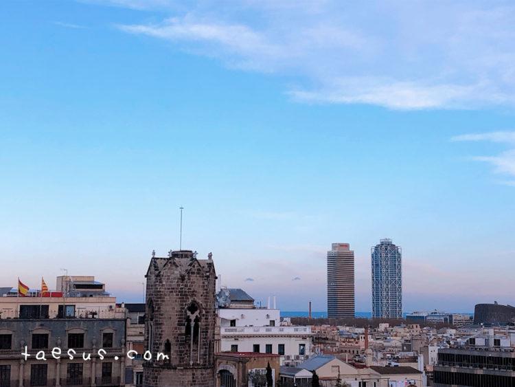 海 サンタ・エウラリア大聖堂