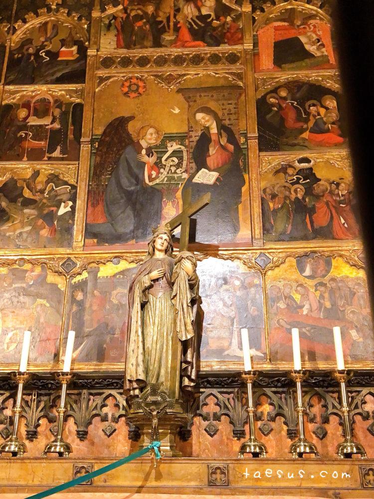 祭壇 サンタ・エウラリア大聖堂