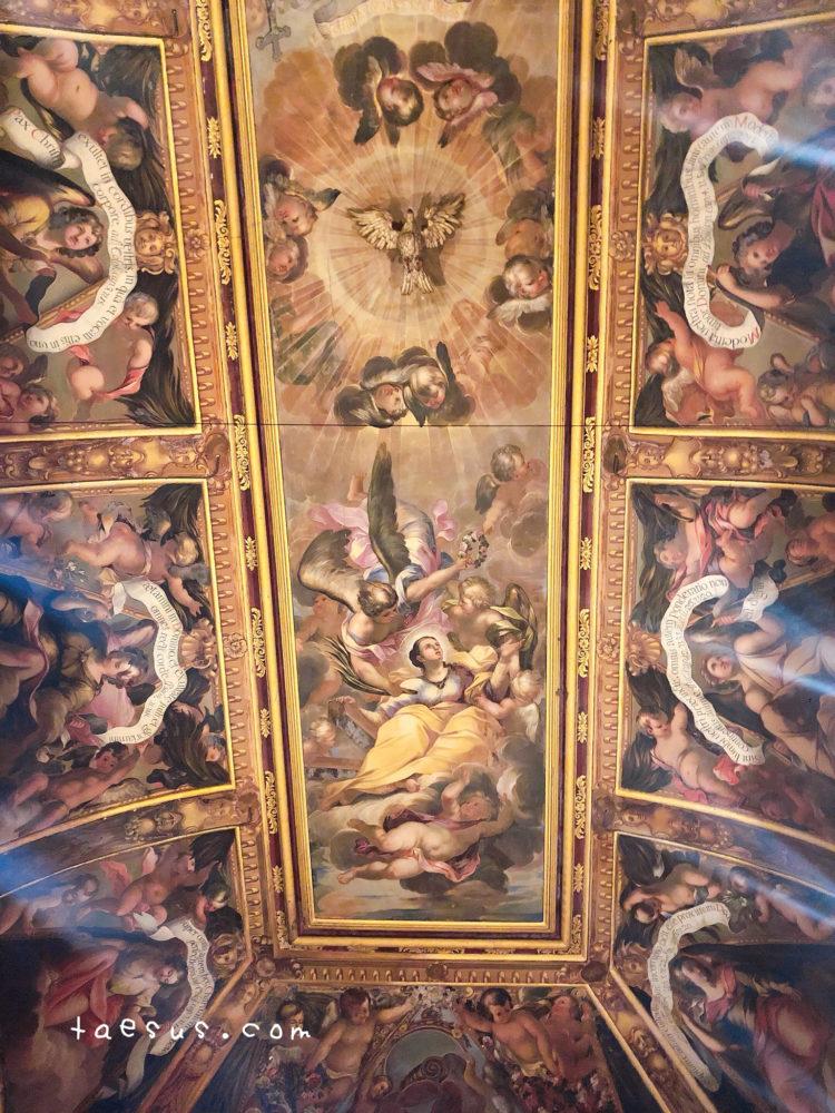 サンタ・エウラリア大聖堂 天井画