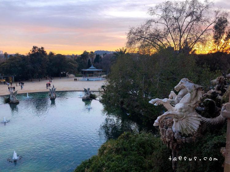 シウタデリャ公園 噴水